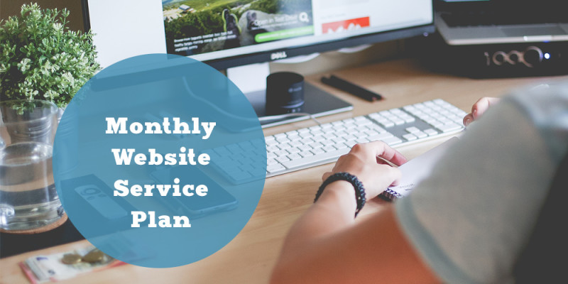 Monthly Website Service Plan