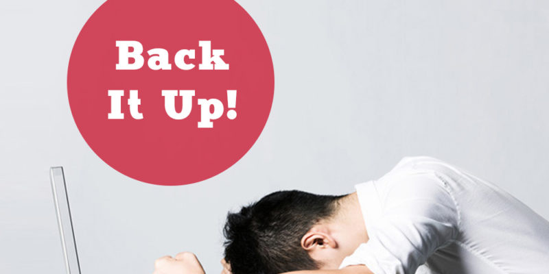 Why You Need to Delegate Backing Up Your Website